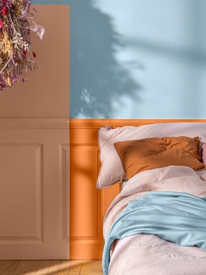 """Tikkurilan Color Now 2021 -värikokoelma inspiroi yhdistelemään sävyjä rohkeasti. Kuva: <span class=""""photographer"""">Tikkurila</span>"""
