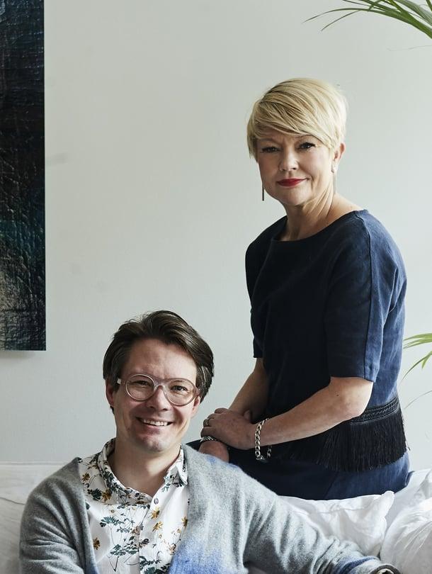 Jaakko Veijola ja Anu Igoni ovat luksustuoksubrändi Nakunan takana.