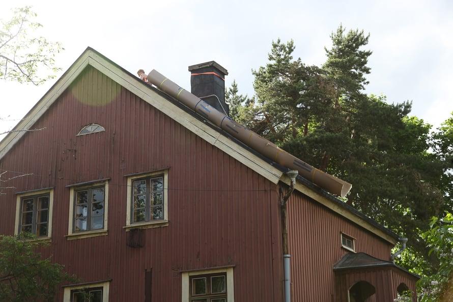 peltikatto, konesaumakatto, peltikaton kunnostus, peltiseppä, Peltisepänliike Söderholm
