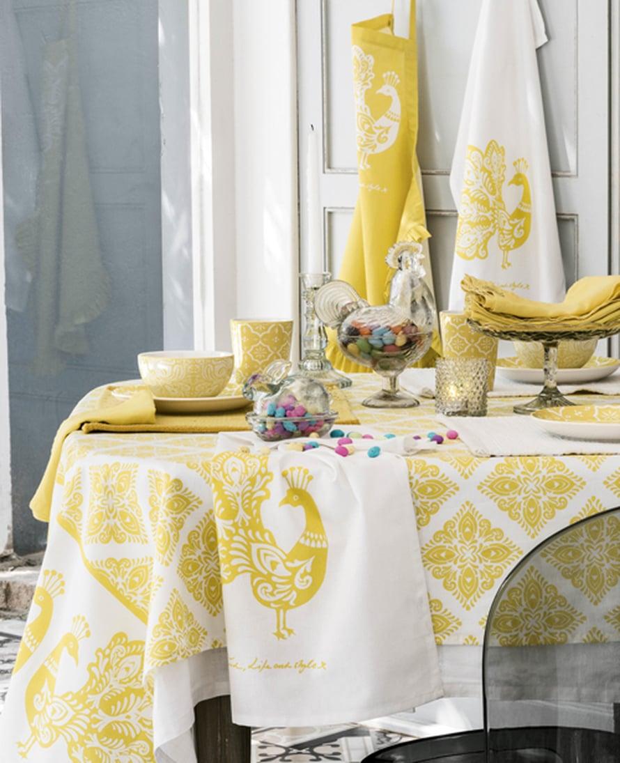 <p><p>Pääsiäiskattauksen varma valinta on keltainen, mutta leikkisyyttä pitää mielestäni aina olla. Saisinpa tuosta muutaman suklaamunan.. Kuva: H&M Home</p></p>