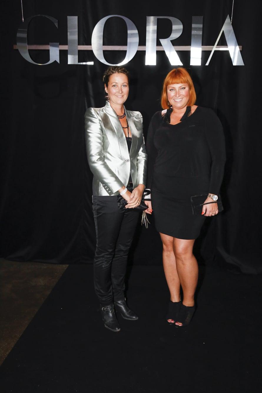 Kira Gluschkoff ja Nina Björkman