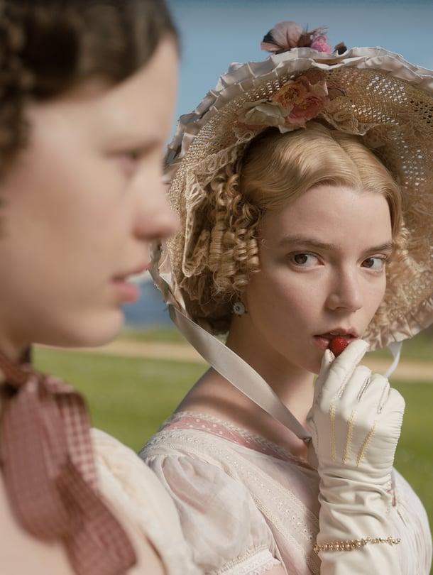 Seuraava Austen-filmatisointi Emma tulee Suomessa ensi-iltaan 6. maaliskuuta.