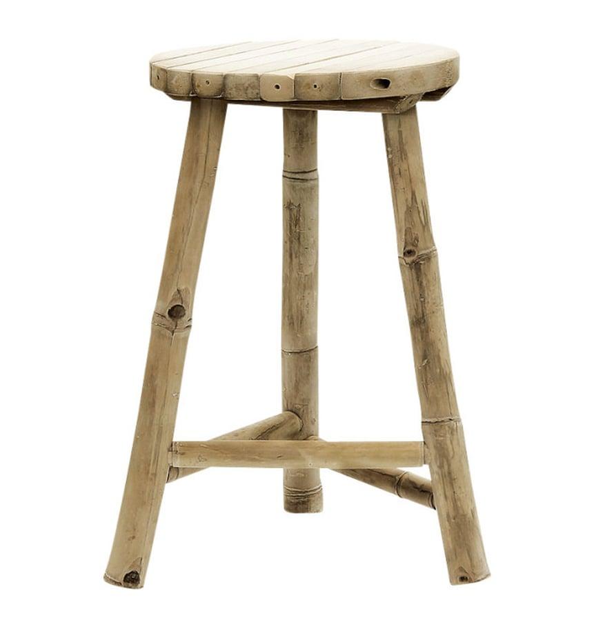 Tine K Homen jakkara on tehty bambupuusta, 65 e, Cafelatte.fi.