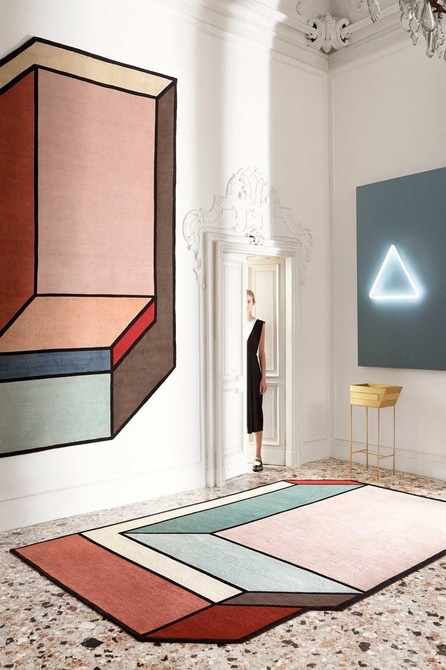 Patricia Urquiolan CC-Tapisille suunnittelemat matot ovat kuin taideteoksia.
