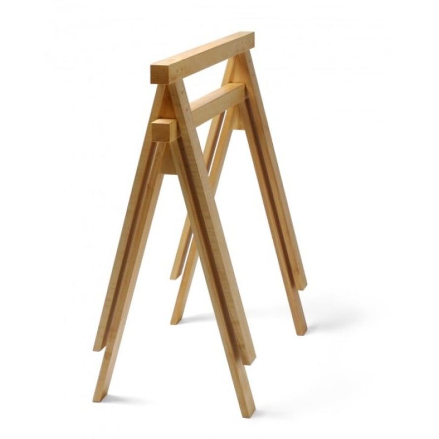Klassiset PPJ-pukkijalat on tehty puusepäntyönä, materiaali koivupuu, 110 e/kpl, Nikari.