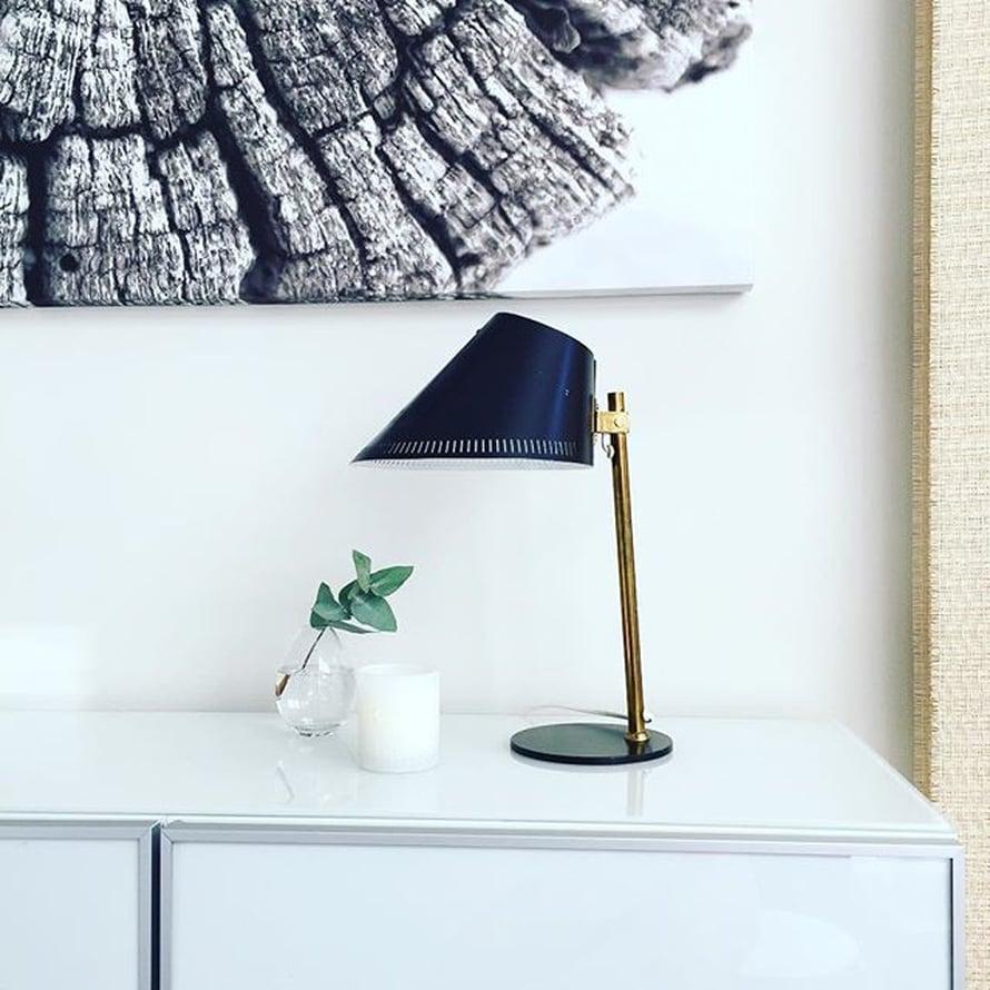 @liina_villailona on saanut Paavo Tynellin lampun äidiltään.