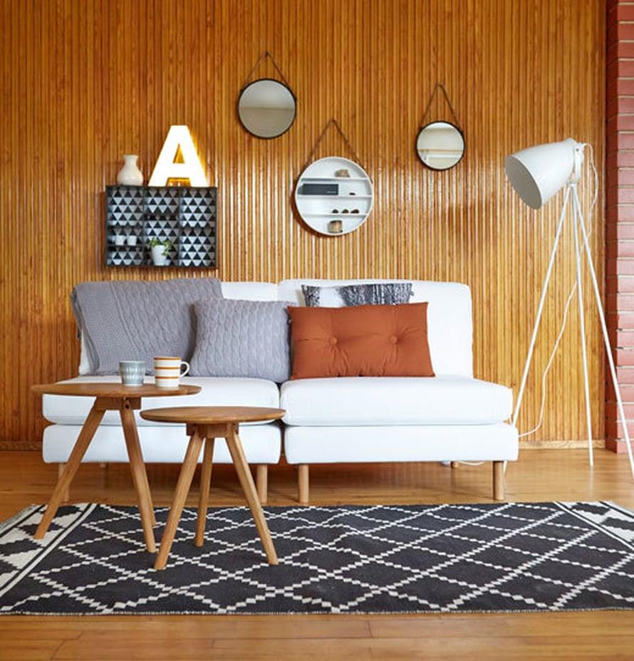 <p><p>Anno Pala –sohvasta voi koota omaan kotiin sopivan. Kuvassa on yhdistetty kaksi yhden istuttavaa palaa. Kuvan sohva 558 e, Kodin1.</p></p>