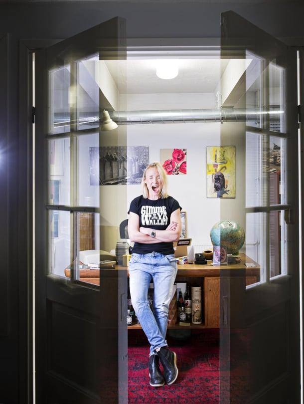 Elise valittiin viime vuonna Suomen uhkarohkeimmaksi yrittäjäksi yhtiökumppaneiden kanssa.