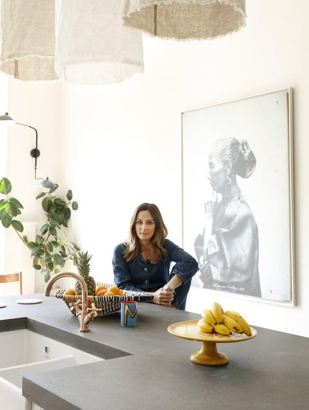 Melissa Del Bono on kotoisin Sisiliasta, mutta asunut jo parikymmentä vuotta Lontoossa.