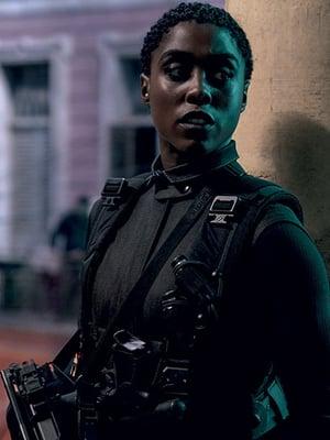 Lashana Lynch on suurelle yleisölle vielä melko tuntematon kasvo. Aiemmin hänet on nähty mm. Captain Marvel -elokuvassa.