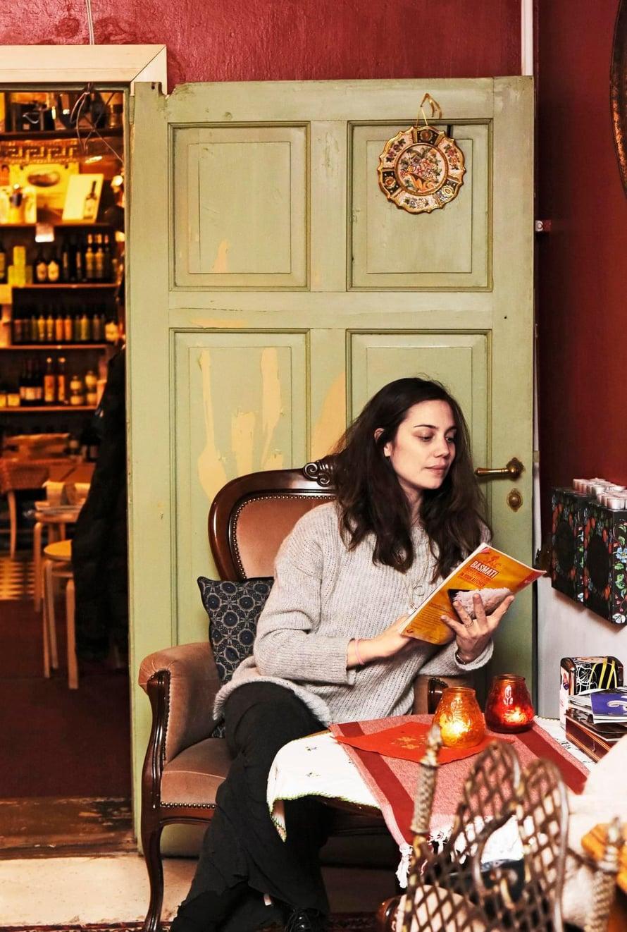Läheinen italialaiskahvila on italialaisen Manuelan suosikkipaikka Katajanokan kotikulmilla Helsingissä.
