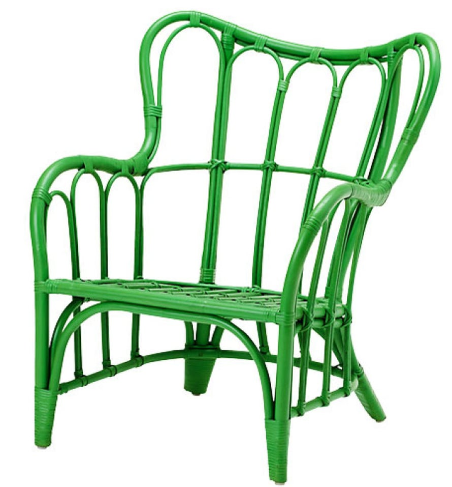 "T&auml;m&auml;nkev&auml;isen Nipprig-malliston lepotuolissa on kosolti istumismukavuutta, 39,95 e, <a href=""http://www.ikea.com/fi/fi/"">Ikea</a>. &nbsp;"