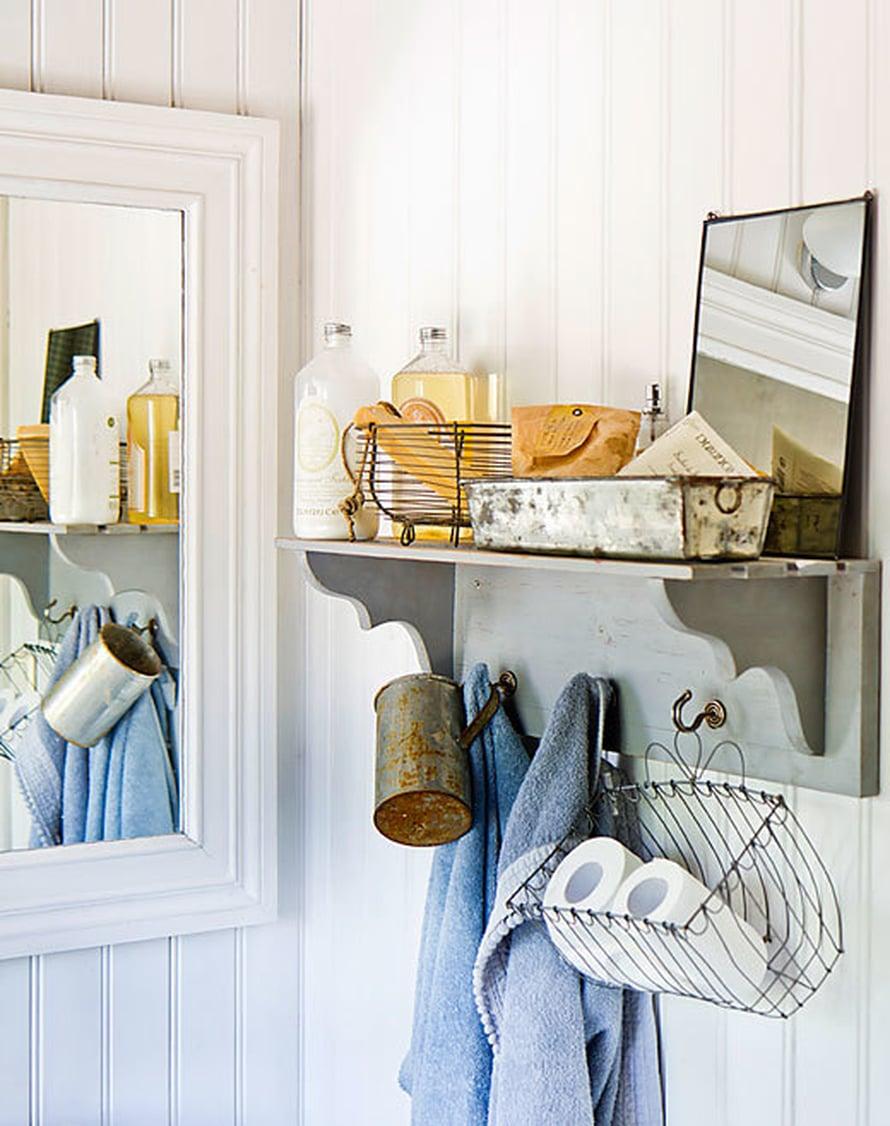 <p><p>Voisiko kylpyhuoneen välttämättömyystavaroita suloisemmin asetella?</p></p>